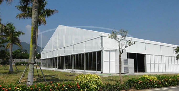 40*115m Huge exhibition tent with strong ABS walls [HS series]