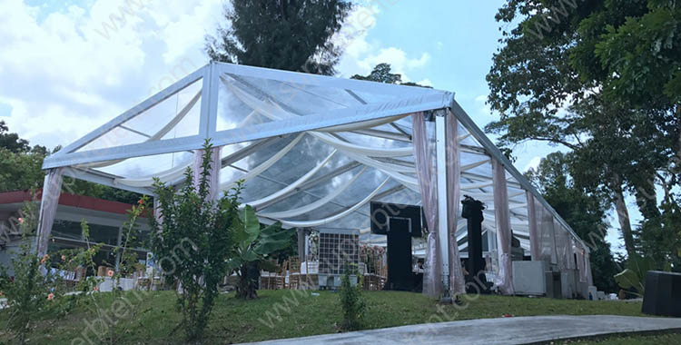 9m clear span transparent party tent [WS series]