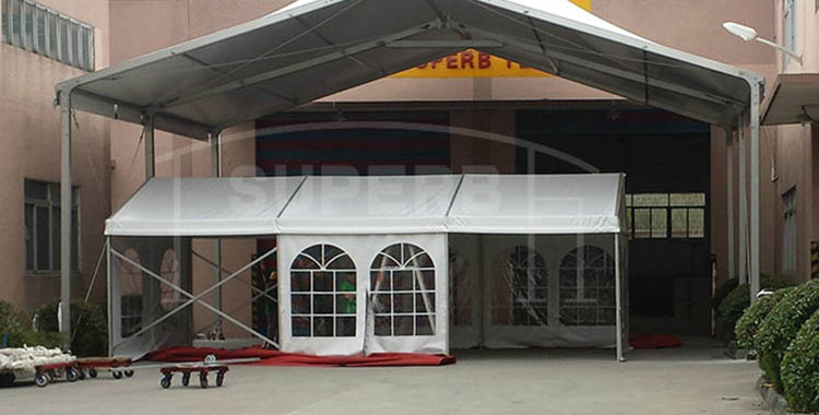 Small size windows sidewalls wedding tent [SS series]