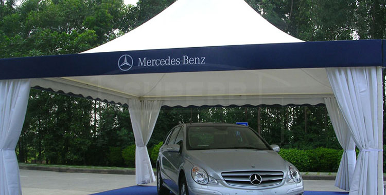 8x8m Exhibition Pagoda Tent for Car Show [PA series]