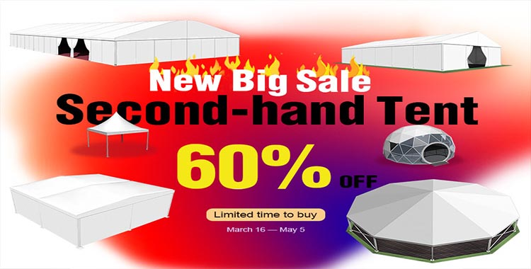 Big Sale For Second Hand Frame Tent