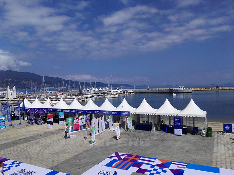 Sailing cup Event Tent