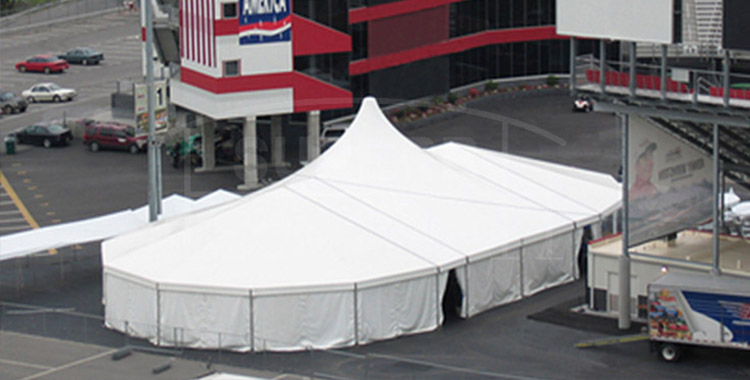 12X22m high peak and Multi-sided Tents combination – WS series