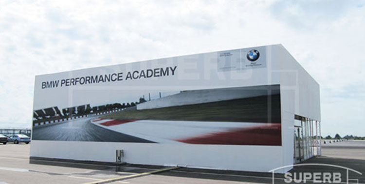 10m by 15m Tent For BMW Test Drive