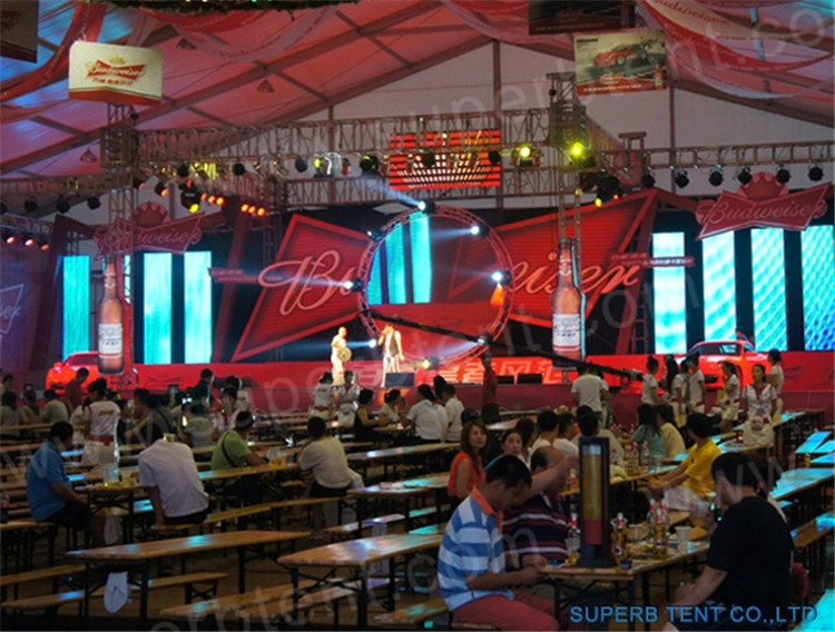 Bearfest 50m Span Marquee Tent
