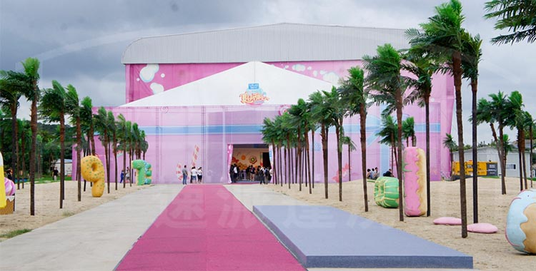 Superb Tent Sponsors the 2016 Hunan Satellite Television Station for Its Summer Vacation Golden Program