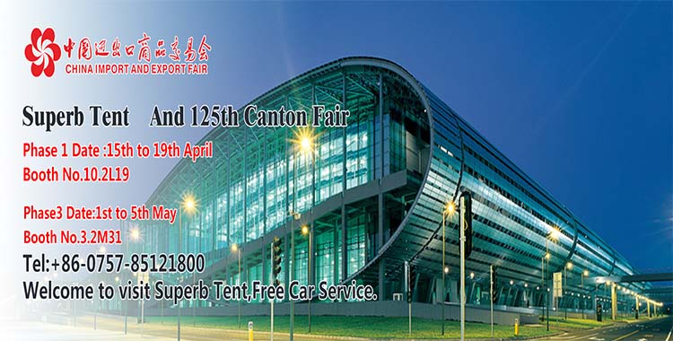 Welcome to 125th Canton Fair