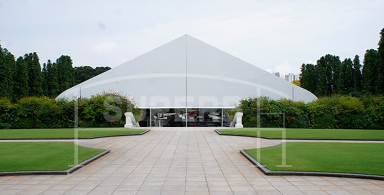 Curve Tent in presidential palace ,must be guaranteed,forceful