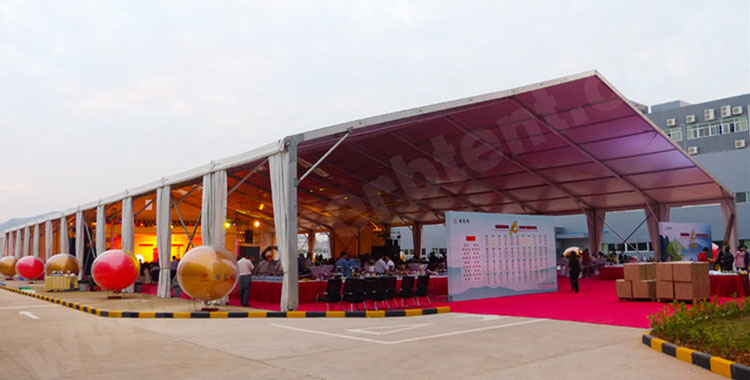 Corporation Anniversary Party Tent