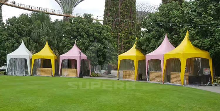 Superbtent Bring You special garden pavillion