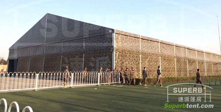 30M clear span huge army tent for sale