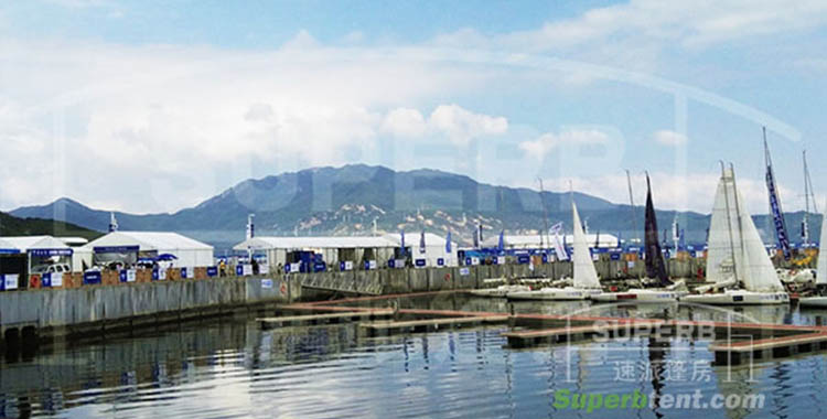 Superb Tent Adds Lustre to the 10th China Cup International Regatta