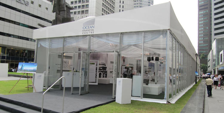 The benefits of temporary exhibition structures