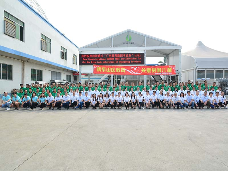 Affection Mountainous Education,Cares for Poverty-stricken Children        2019 Superbtent cares Sichuan Liangshan
