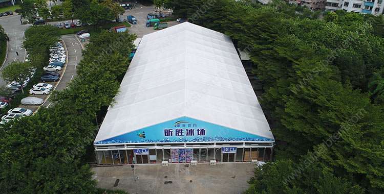 30x60m large aluminum sport event tent for indoor skating