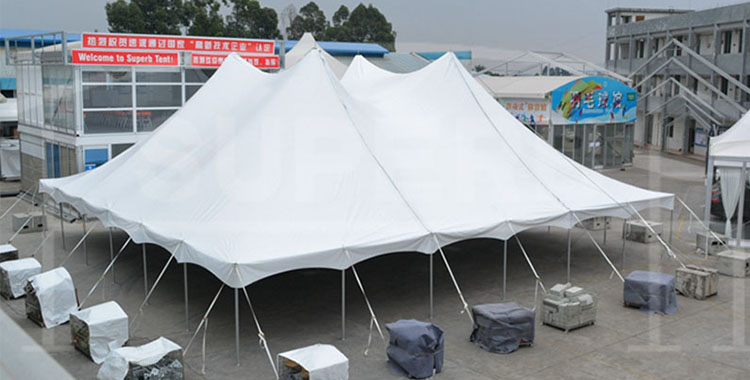 18x18m pole tent for wedding