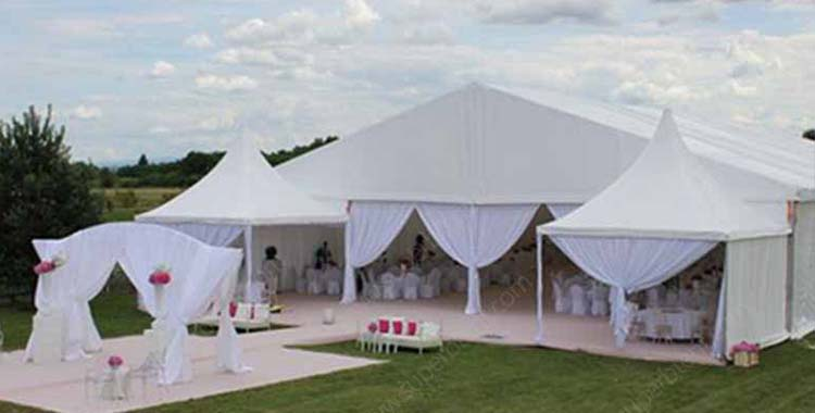 Creative Wedding Tent