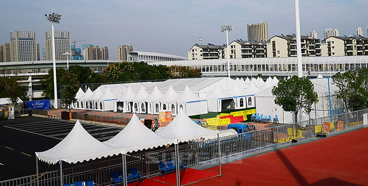 The 7th World Military World Games Tents