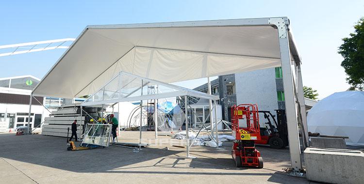25x30m Big Aluminum Aircraft tent
