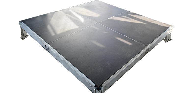 Modular adjustable floor