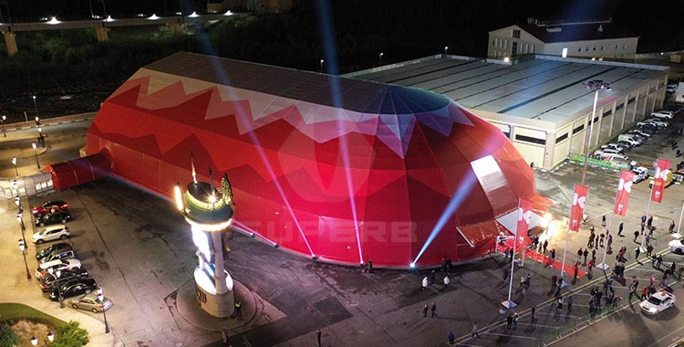 Polygon Structure Tent For Event