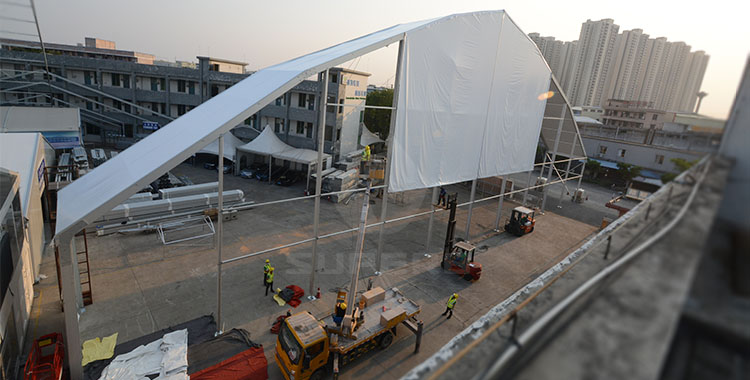 50x80m Polygon Tent For Opera