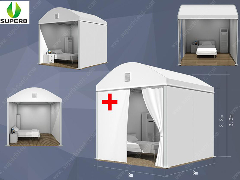 Mobile cabin hospitals