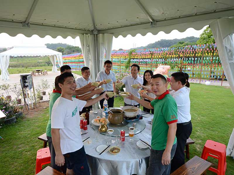 Superb Tent Senior management activity  at Nanguo Peach Garden