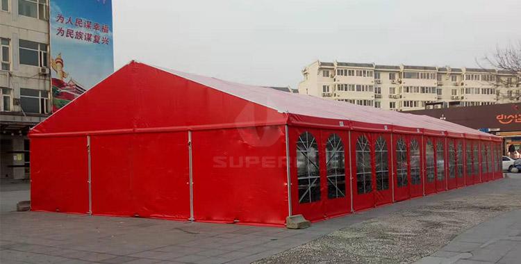 10*24m emergency tent