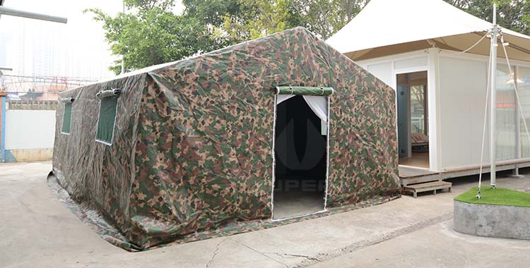 Temporary emergency rescue hospital tent, isolation tent
