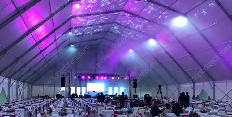 Polygon Huge Hall Tent
