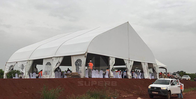 Large Outdoor Party Tents In West Africa