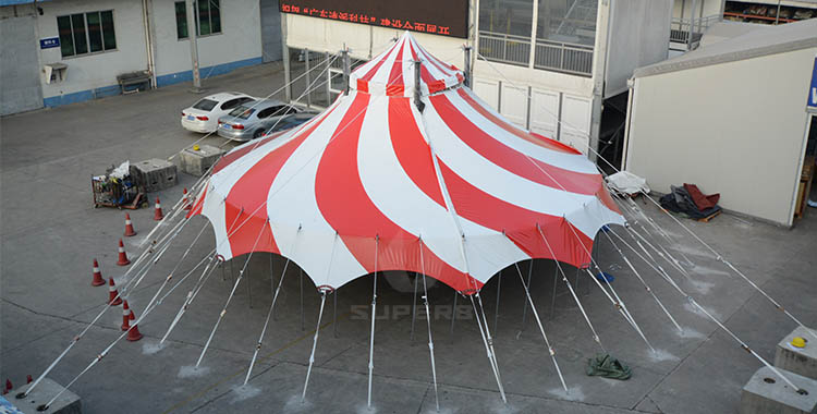 Custom circus tent