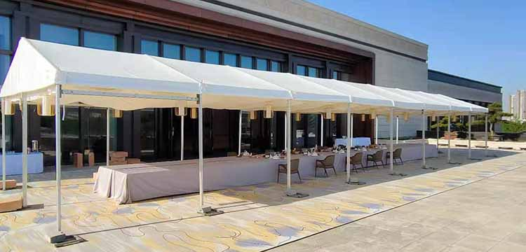"""Superb Tent undertakes the construction of the tent for the """"China + Five Central Asian Countries"""" Foreign Ministers' Meeting(Xian)"""