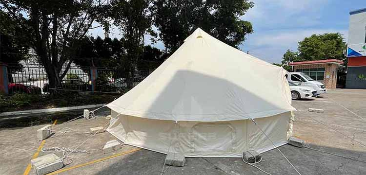 outdoor 3m 4m 5m 6m 7m bell tent